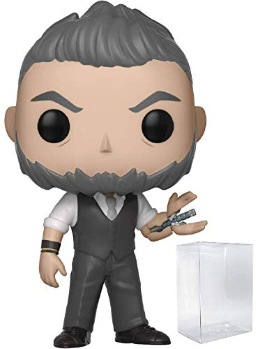 Funko Pop! Marvel: Black Panther - Ulysses Klaue Vinyl Figure (Bundled with Pop Box Protector Case)