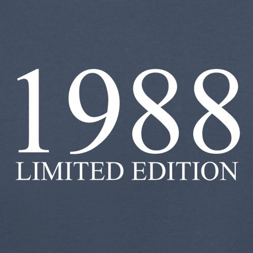 1988 Limierte Auflage / Limited Edition - 29. Geburtstag - Herren T-Shirt - Navy - XL