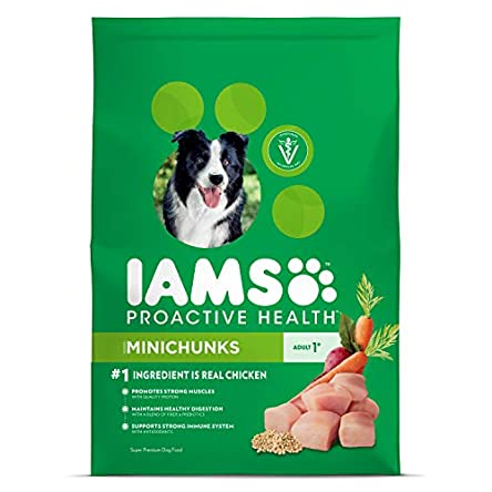 IAMS Minichunks Adult Dry Dog Food, Chicken