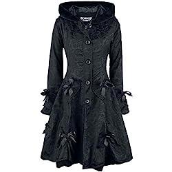 Poizen Industries Alice Rose Coat Frauen Wintermantel schwarz Industrial