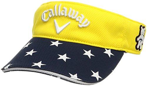 (キャロウェイ アパレル) Callaway Apparel [ レディース] 速乾 サンバイザー (サイズ調整) / 241-8184810 / 帽子 ゴルフ