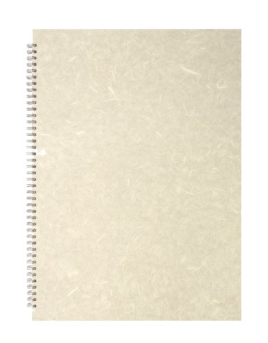 Pink Pig A3 Portrait Sketchbook   White Cartridge, 35 Leaves   Ivory