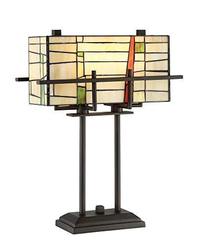 Lite Source Mansur Table Lamp with Tiffany ()