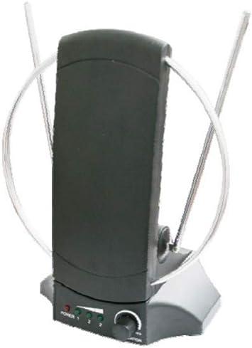 ElectroDH 60261 DH Antena interior de TV con amplificador