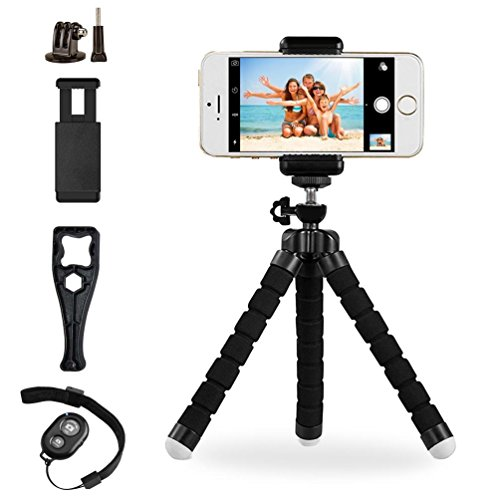 octopus portable adjustable tripod stand