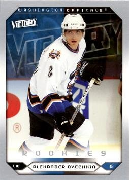 Alexander Ovechkin Hockey (2005-06 Upper Deck Victory Hockey #264 Alexander (Alex) Ovechkin Rookie Card)