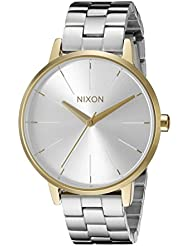 Nixon Womens A0992062 Kensington Analog Display Analog Quartz Silver Watch