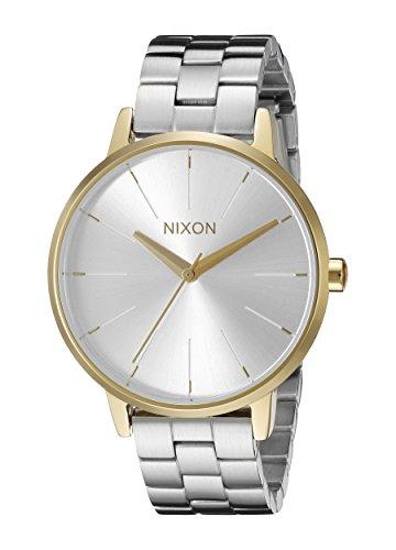 Nixon Women's A0992062 Kensington Analog Display Analog Quartz Silver Watch
