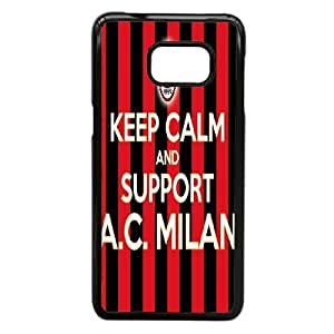 Samsung Galaxy Note 5 Edge Phone case Black AC Milan ZAC1246098