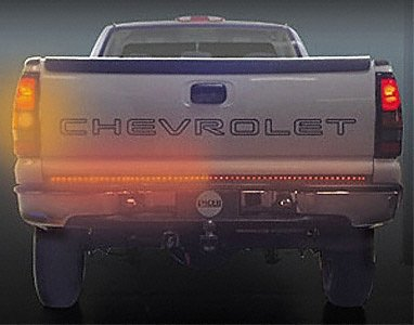 Pacer Performance 20-800 Outback F4 Black/Clear Rigid LED Tailgate Light
