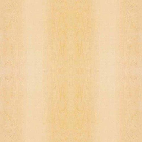 Veneer Tech White Maple Wood Veneer Plain Sliced 10 Mil 4' X 8' by Veneer Tech