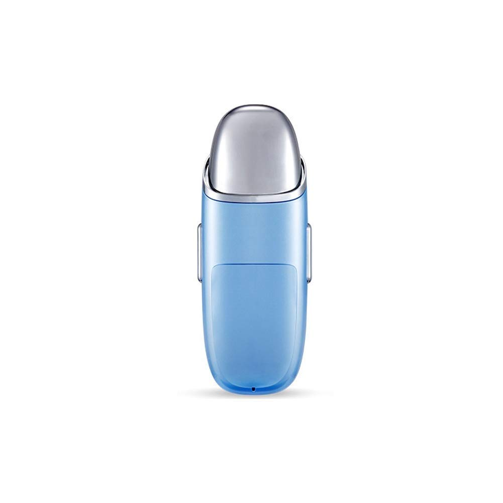 RANRANJJ Eye Massager Hydration Anti-Aging Remove Eye Wrinkles and Dark Circles Edema Negative Ion Import Multifunction Beauty Equipment Relieves Dark Circles Puffy Eyes (Color : Blue)