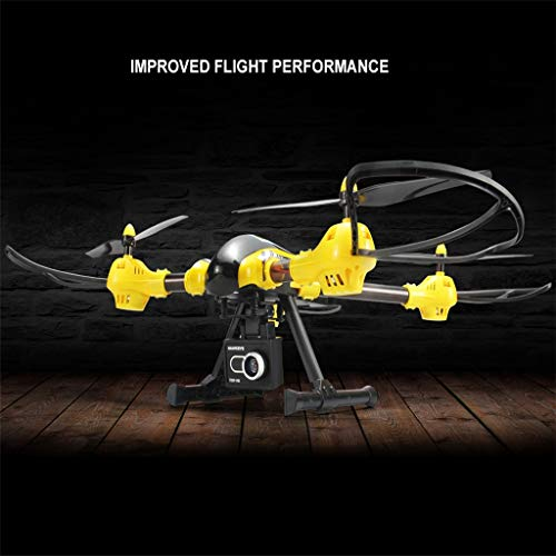 MOZATE KAIDENG K70 HD Camera 6 Axis Gyro Altitude Hold Mode 3D Flip Roll RC Quadcopter (Yellow) by MOZATE (Image #9)