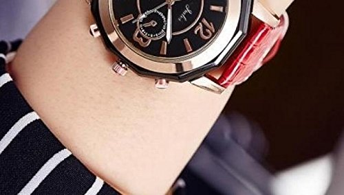 Generic Korean_style_of trend stylish _men's_ watch es_ simple women girl watch _night_ watch _casual_jacket_with_middle_school_ girls_ quartz watch watch