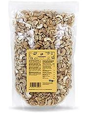 KoRo - Cashewnoten gebroken 1 kg - 100 % natuurlijke cashewnoten zonder toevoegingen ongezouten