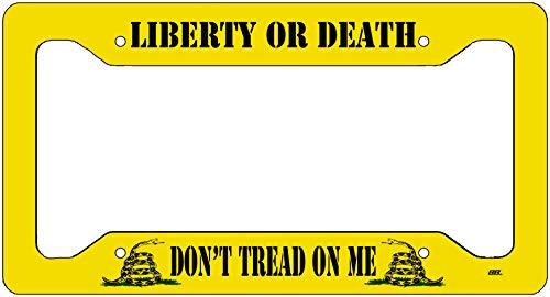 gadsden license plate frame - 4