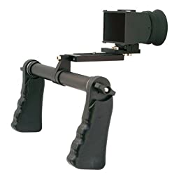 Cavision Dual Handgrip Viewfinder Package for DSLR/5D MII Cameras with LCD Viewfinder, 3\