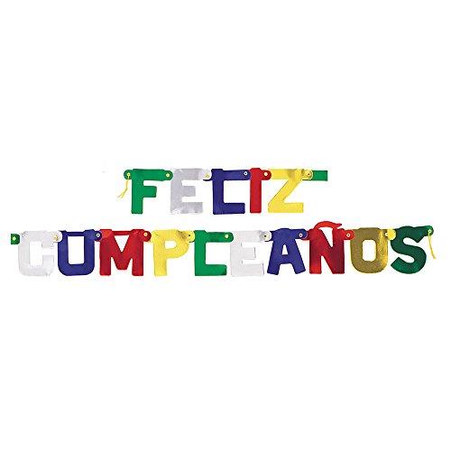 Price comparison product image 5ft Feliz Cumpleanos Banner