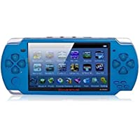 balaji trading co. High Quality Handheld Grand Classic GCL-01 PSP Game Inbuilt, Multi- Languages/Camera (Blue)
