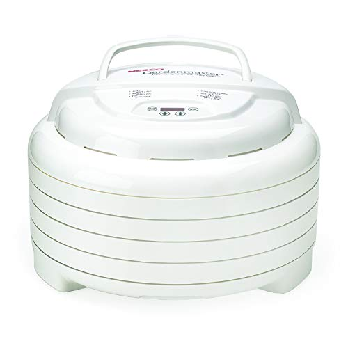 NESCO FD-1040, Gardenmaster Food Dehydrator, White, 1000 watts