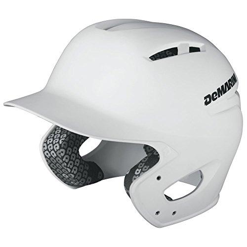 (DeMarini Paradox Youth Batting Helmet, White, Youth)