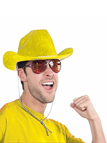 - Forum Novelties Yellow Cowboy Deluxe Hat