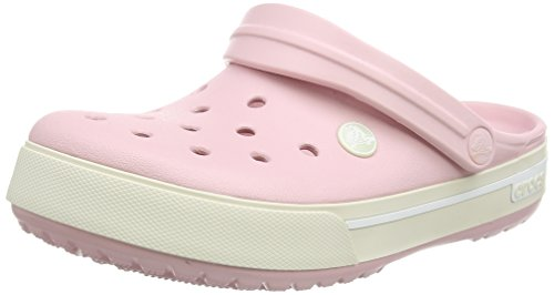 Crocs Crocband II.5 - Zuecos Unisex Rosa (Pearl Pink/Stucco)