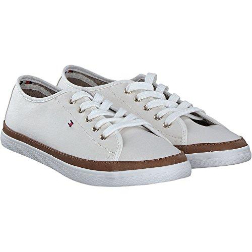 Hilfiger Vrouwen K1285esha 6d Sneaker Wit