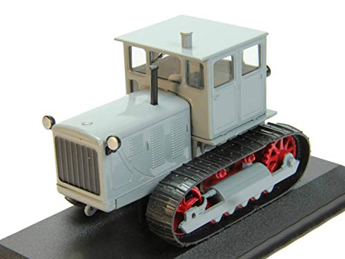 T-100 (Т-100 Сотка) 1963 Year - Legendary Soviet Industrial Crawler Tractor - 1/43 Collectible Model Vehicle - Soviet Industrial Crawler Tractor by Chelyabinsk Tractor Factory ()