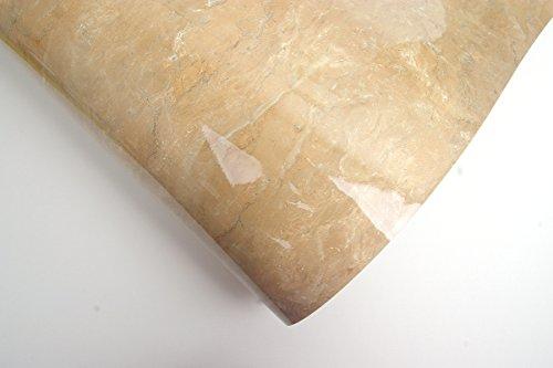 Granite Look Marble Effect Contact Paper Film Vinyl Self Adhesive Peel-stick Counter Top (Dark Beige)