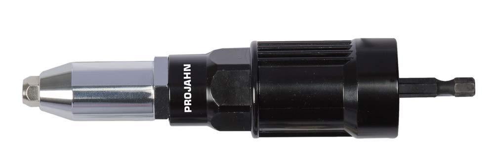 Projahn 398063 profesional Phottix–Adaptador de remaches para taladros y atornillador inalámbrico