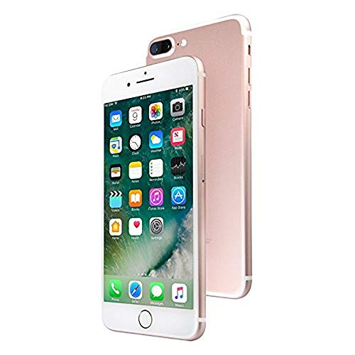 Apple iPhone 7 Plus, GSM Unlocked, 128GB - Rose Gold (Renewed)]()
