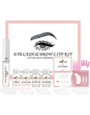 Eyelash Brow Lift Kit Professional DIY Perm Brows Lamination Kit for Salon and Home use