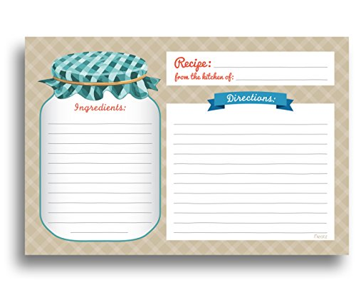 mason-jar-recipe-cards-50-double-sided-cards-4x6-inches-thick-card-stock