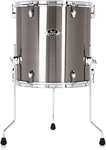 Pearl Export EXX Floor Tom - 16 Inches X 16 Inches, Smokey Chrome by Pearl