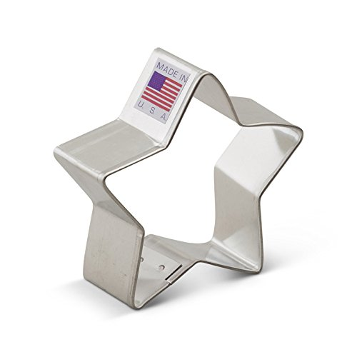 Ann Clark Cookie Cutters Star Cookie Cutter, 2.75