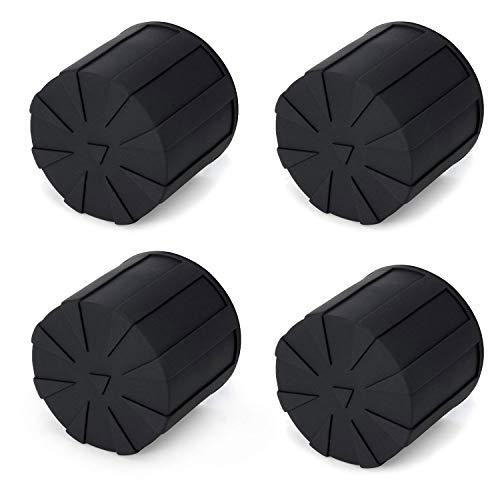 (Digislider Silicone Universal Lens Cap - Fits Over 99% of Lenses, Scratch Proof, Waterproof, Dustproof, Shock-Absorbent, Lens Cover for 60-110mm Lenses (4 Pack))