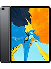 The 11-inch iPad Pro features an advanced Liquid Retina display that goes edge to edge. Face ID, so you can securely unlock iPad Pro, log in to apps, and pay with just a glance. The A12X Bionic chip is faster than most PC laptops and easily r...