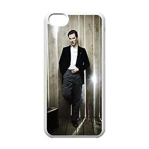 C-EUR Print Benedict Cumberbatch Pattern Hard Case for iPhone 5C