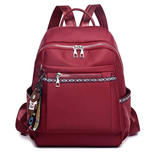 Della Multifunzione Outdoor Signora Vhvcx Backpack Oxford Alta Lady Di Del Capacità Cuffia Fori Panno Sacchetto Spalla B OO7CFY
