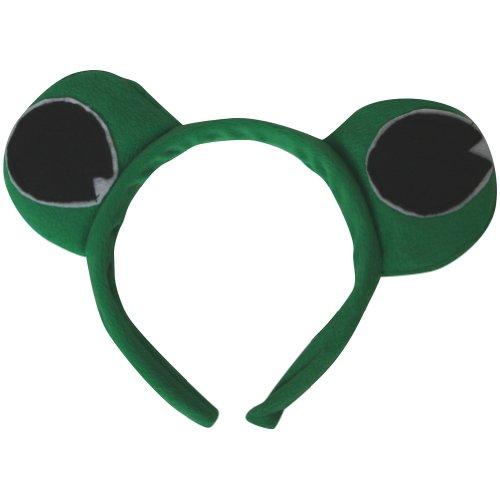 Green Frog Eyes Headband