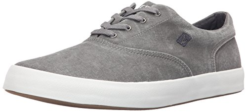Sperry Top-Sider Men's Wahoo CVO Fashion Sneaker, Grey, 12 M US