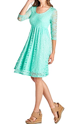 3 4 Length Dresses - 7