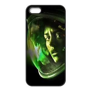 Alien Isolation 8 funda iPhone 4 4s caja funda del teléfono celular del teléfono celular negro cubierta de la caja funda EVAXLKNBC34265