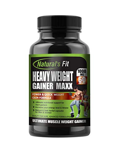 Naturals Fit Weight Gainer, 60 Capsule, 1000 Mg