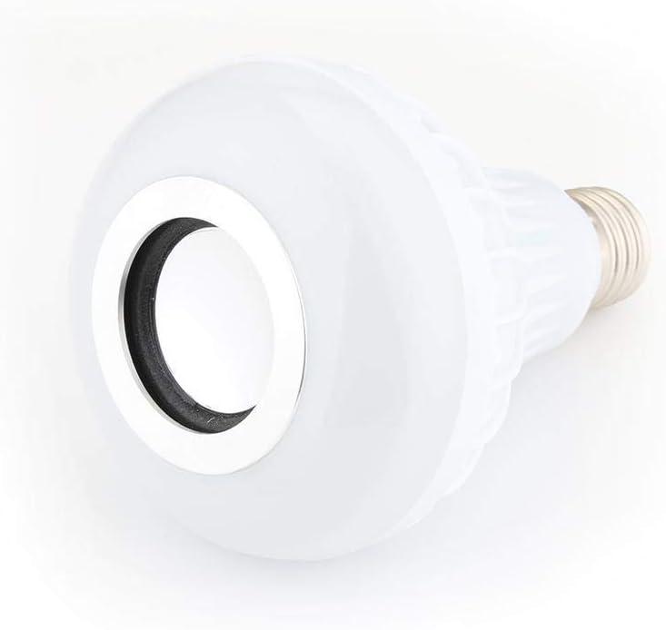 Oliwui Smart RGBW Wireless Bluetooth Speaker Bulb Music Playing Dimmable 12W E27 LED Bulb Light Lamp Light Speaker