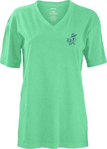 Three Square by Royce Apparel NCAA Florida Gators Smitten V-Neck Short Sleeve T-Shirt, Large Florida Gators Square