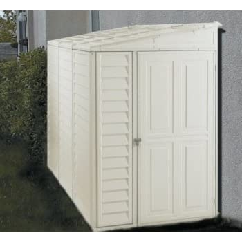 Exceptionnel DuraMax 00614, 4u0027 X 8u0027 Stronglasting SideMate Vinyl Storage Shed With  Foundation Kit
