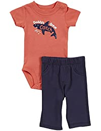 2 Piece Screenprint Bodysuit Set (Baby)