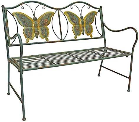 PierSurplus Junior Metal Butterfly Bench